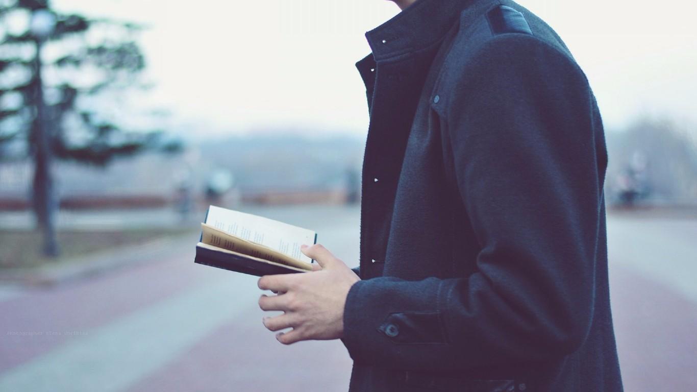Чтение на ходу - двойная польза