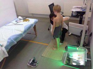 Измерение параметров тела ребенка