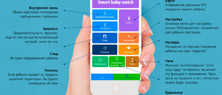Регистрация smart-baby-watch в приложении SeTracker